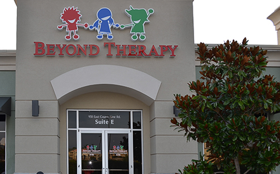 Ridgeland MS Beyond Therapy Clinic Exterior